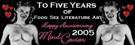 erotica, food, sex, literature, art, mind caviar, caviar, cavier